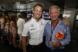 Button's father John dies aged 70