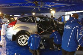 Francois Delecour's Ford