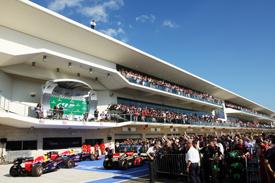 US GP parc ferme 2013