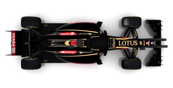 Lotus 2014 F1 car
