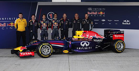 Bull racing представила свою новую машину