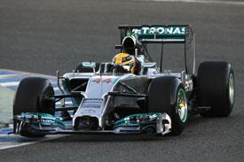Lewis Hamilton F1 Mercedes 2014