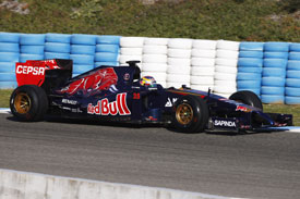 Jean-Eric Vergne F1 Toro Rosso 2014