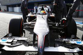 Esteban Gutierrez F1 Sauber 2014