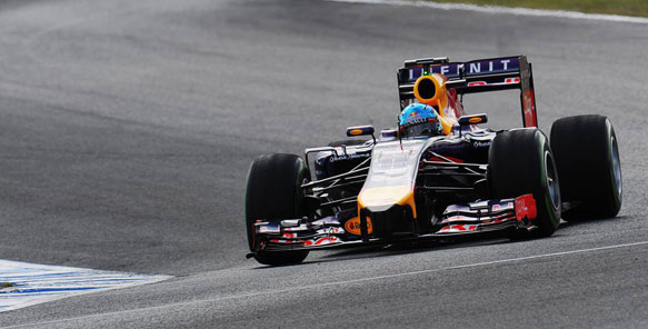Red Bull F1 2014
