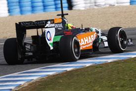 Sergio Perez F1 Force India 2014
