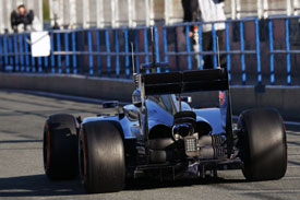 Jenson Button F1 McLaren 2014