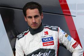 Adrian Sutil F1 Sauber 2014