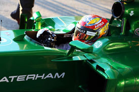 Robin Frijns F1 Caterham 2014