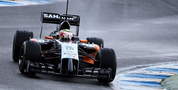 Sergio Perez F1 Force India 2014