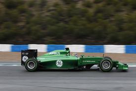 Kobayashi Caterham Jerez