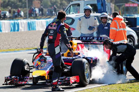 Red Bull, Jerez 2014