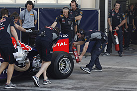 Red Bull, Bahrain F1 test 2014