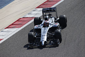 Magnussen puts McLaren on top on day two
