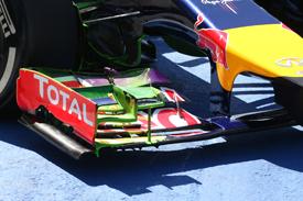 Flo-vis, Red Bull F1 testing