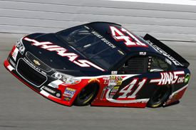 Kurt Busch sets final practice pace