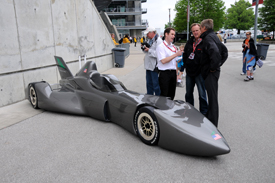 DeltaWing at Indianapolis, 2010