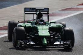 Kamui Kobayashi F1 Caterham 2014