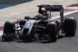 Pastor Maldonado Lotus F1 2014