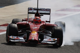 Kimi Raikkonen F1 Ferrari 2014
