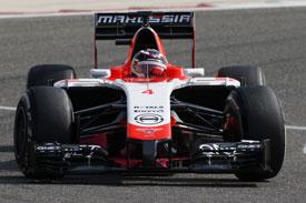 Max Chilton F1 Marussia 2014
