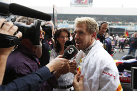 Sebastian Vettel F1 2014