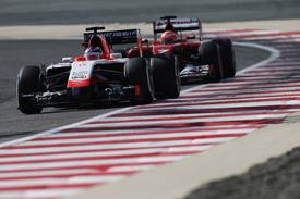 Jules Bianchi and Kimi Raikkonen