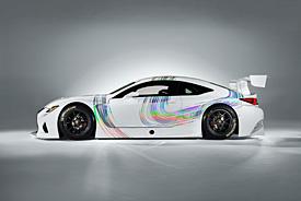 Lexus presents GT3 challenger
