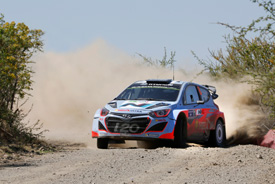Hyundai's i20 World Championship Rally car finishes 3rd in Mexico race
