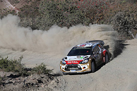 Ostberg grabs early lead in Mexico