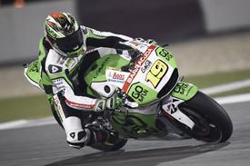 Alvaro Bautista, Gresini Honda, Qatar MotoGP test March 2014