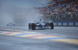 Nigel Mansell Adelaide 1994