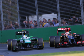Caterham and Lotus