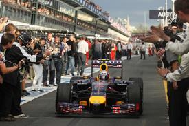 Daniel Ricciardo, Red Bull, Australian GP 2014, Melbourne