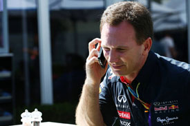 Christian Horner F1 2014