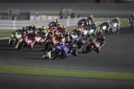 Qatar MotoGP start 2014