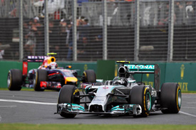 Mercedes wary of Red Bull threat