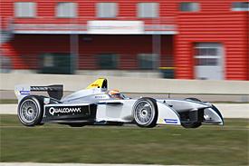 Jarno Trulli Formula E test