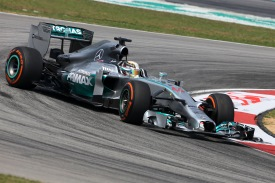Lewis Hamilton, Mercedes, Malaysian GP 2014, Sepang