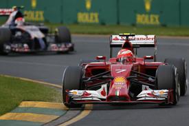 Kimi Raikkonen, Ferrari, Australian GP 2014, Melbourne