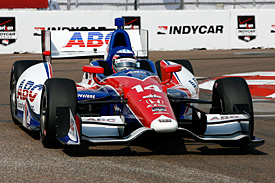 Sato on pole for IndyCar opener
