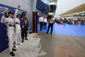Malaysian GP qualifying