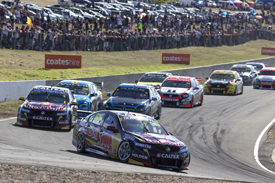 Lowndes beats Whincup in race three