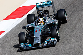 Hamilton puts Mercedes on top in FP1