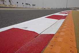 Bahrain GP kerb, 2014