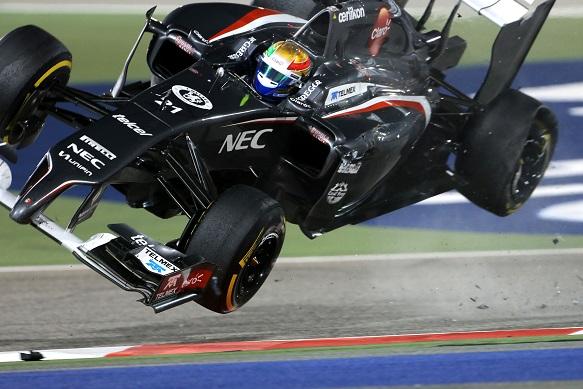 Esteban Gutierrez, Sauber, Bahrain Grand Prix