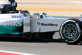 Hamilton keeps Mercedes on top in test