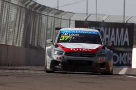 Lopez leads Citroen podium sweep