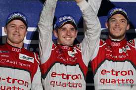 Audi LMP1 stars enter Spa 24 Hours