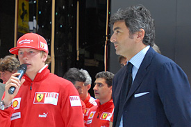Domenicali steps down as Ferrari boss